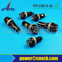 High quality fuse holder /fuse link for electronics component ceramic fuse holder