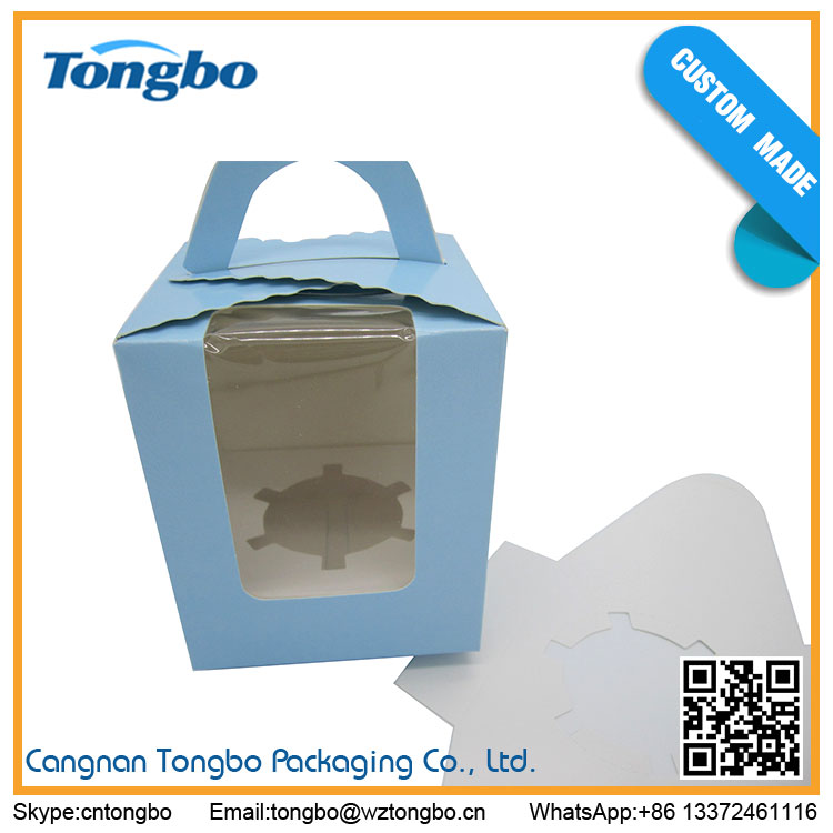 Wholesale cookie box with window biscuit cookie cake box packaging