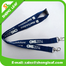 Hot sale custom logo printed heat transfer lanyard for exhibition