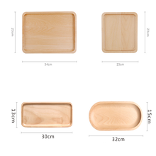 Eco-friendly Wooden Tray Serving Tray For Food