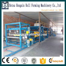 aluminium plastic /color steel composite panel production line
