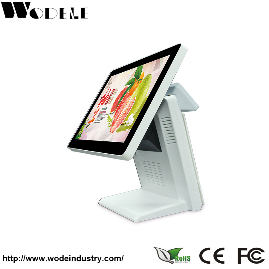 15 Touch Screen Pos Thermal,3 Years Warranty/Led Monitor pos system dual screen