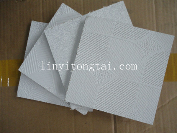 Wholesale suspended ceilings color gypsum plaster board for Gypsum colour