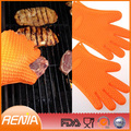 RENJIA heat resistant food grade gloves heat resistant bbq gloves heat protective gloves