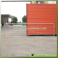 galvanized farm fence gate
