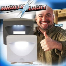 MIGHTY LIGHT 3 LED Indoor Outdoor Activated Motion Sensor Night