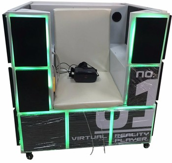 9d vr game machine vr simulator M cube 9d virtual reality