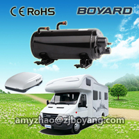 115V 60Hz compressor horizontal compressor for roof top mounted camper van accessories