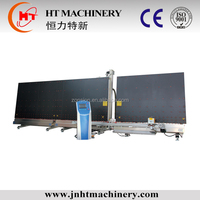 insulating glass sealing robot/double glass sealant extruder /glass processing machine
