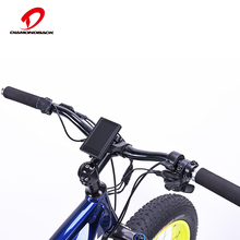 European standard aluminium alloy fat tire electric bike
