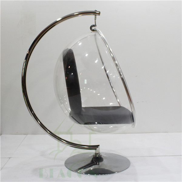 Latest cheap clear acrylic hanging bubble chair buy for Bubble hanging chair ikea
