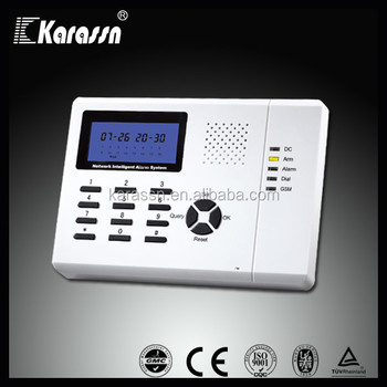 Wireless GSM Security Alarm System with ISO CE Approval (KS-899E)