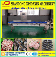 XDX-800 automatic online digital check weigher/weight soring machine/weight checking and sorting machine