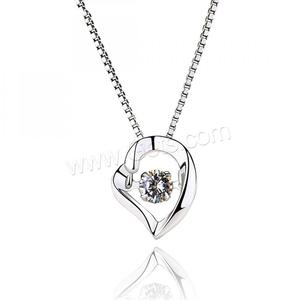 Sterling Silver Heart pendants 925 heart shaped photo frame pendant 1285745