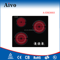 Good quality Cheap price Kitchen stove 2016 Aivo 60cm schott ceran ceramic induction hob