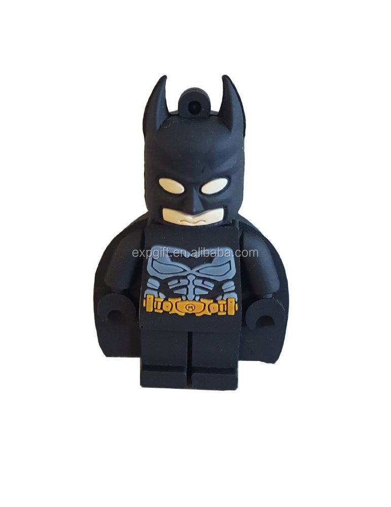 Batman USB Flash Drive / Man of Steel USB Flash Drive / Superhero USB Flash Drive