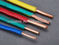 PVC insulated electrical wire,building wrie