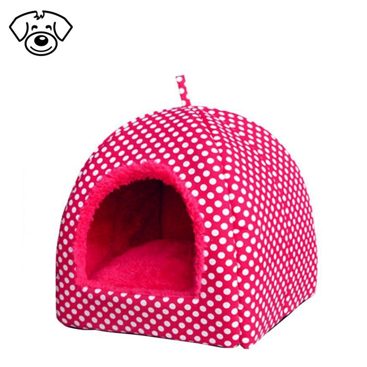 Soft pet dog puppy cushion warm kennel dog mat cat house bed folding pet furniture