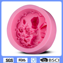 Novelty Mini Angel Shape Lace Fondant Mold,Silicone Molds for Candle