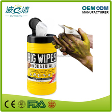 Mutipurpose Surface Clean Isopropanol Industrial Wipes in Canister