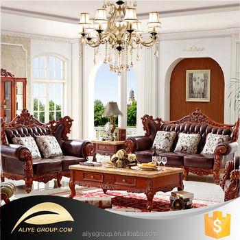 AS35-european royal sofa/antique leather sofa/living room furniture sets  formal, View european royal sofa, Aliye Product Details from Foshan Aliye  ...