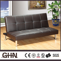 Leisure style clean lines furniture living room leather sofa sets