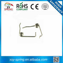Wire spring small torsion springs for industry with two hooks