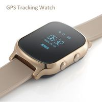 Waterproof kids gps watch, wrist watch gps tracking device for kids