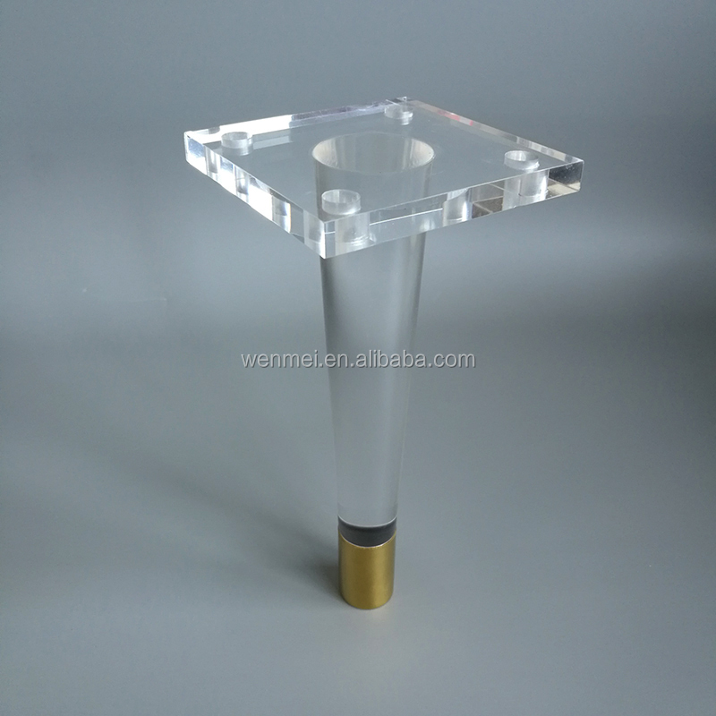 Hot Sale Tapered Lucite Furniture Legs For Cabinet   Buy Lucite Leg,Lucite  Furniture Leg,Lucite Cabinet Leg Product On Alibaba.com