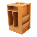 Painting Multifunctional Wooden Storage box