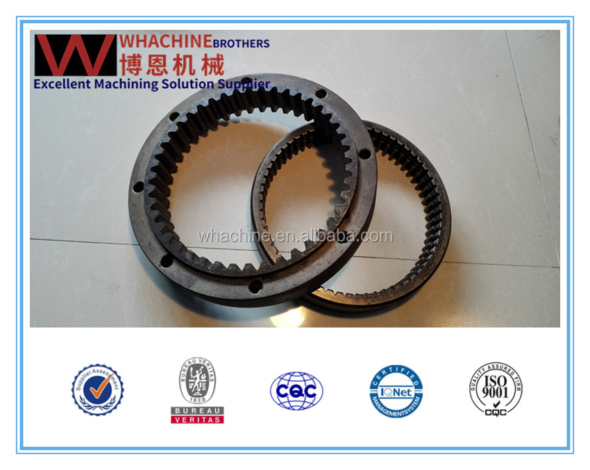 professional Customized ring gear made by whachinebrothers ltd.