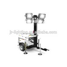 Tower Emergency Services Lighting Metal Halide Light for Manual Lighting Towers Telescopic