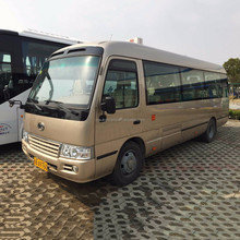 Hot selling 7.7m JAC 26 seats coaster mini bus for sale with discount price