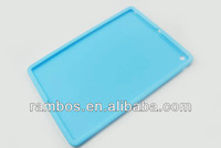 Simple Plain Tablet Back Cover Case Silicone Gel Case for iPad 5 Air 9.7inch