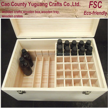 cosmetic packaging Hot Sale Good Quality wood essential oil box/case