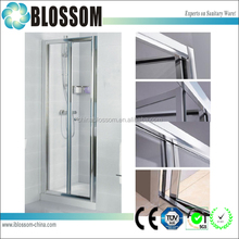 Blossom Small Space 6Mm Glass Shower Bifold Bathoom Folding Door