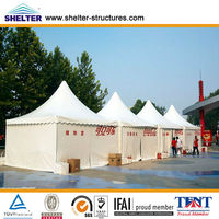 Beijing Olympics Outdoor Restaurant Tent 15X30m,30X50m,30X100m Made of Aluminum Alloy & PVC Coated Cover Used for Over 20 Years