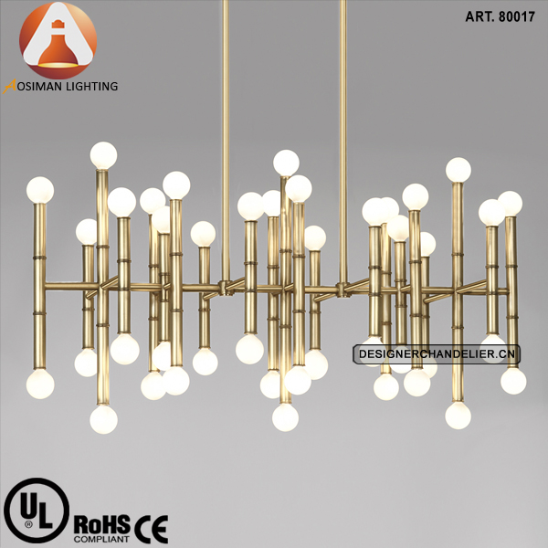 Meurice Rectangular Modern Chandelier Lighting