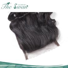 New Arrival swan 10A 4x4 lace closure human virgin deep curly hair