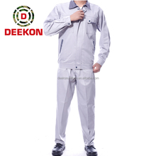 China Supply Work Uniform with CVC Ripstop Fabric