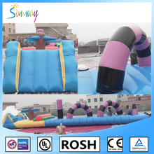 Huge Inflatable Water Park Games, Inflatable Combo Play Gemes For Amusement