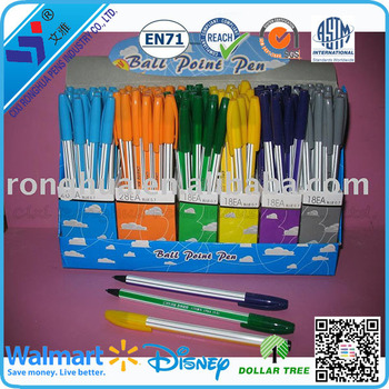 2015 hot selling buy wholesale direct from china color pp plastic pen