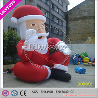 5m advertising promotional inflatable character/cartoon/model/animal/replica/mascot/costume/christmas father