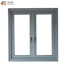 China customized sand grey aluminum casement window price philippines