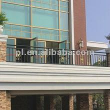 Hight quality steel Decorative balcony railing for home/garden(China manufacturer)