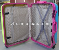 newest AL frame match color hand luggage trolley
