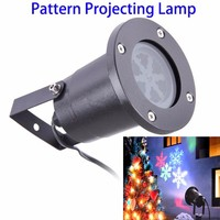 IP44 Waterproof Christmas Outdoor Snow Snowflake Pattern LED Projector Laser Light for Garden Yard