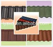 arctic blue stone coated roof tile in Nepal, roof tile for house building sancidalo roof tile asphalt shingles