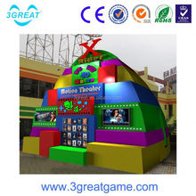 hot sell 6seats chairs 5d simulator theater with free movies
