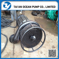 11KW 15HP submersible centrifugal slurry pump